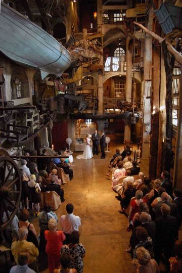 Ceremony in the Mercer Museum