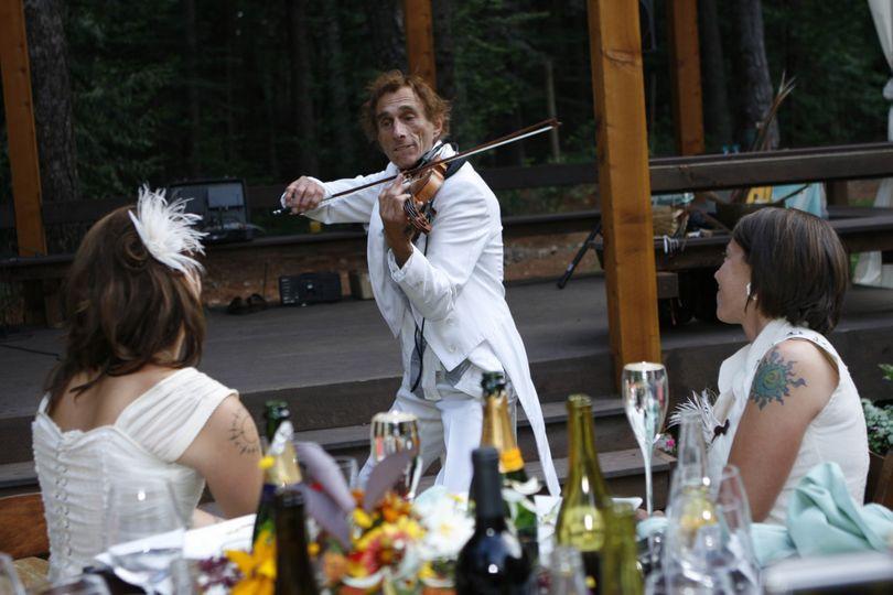 Wedding musician