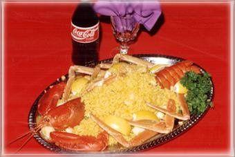 Decorative Seafood Plate