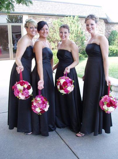 A pomander ball wedding!