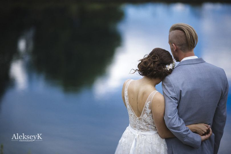 elegant country style wedding wny 22