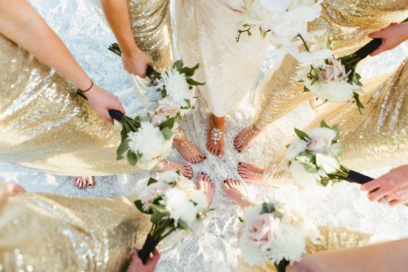 golden longboat key club beach wedding brettbobby