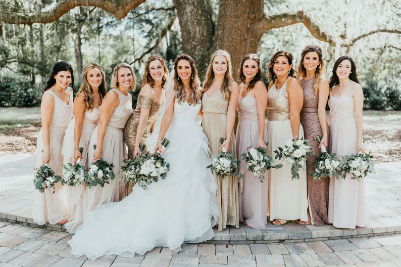 bowing oaks plantation wedding brittany james