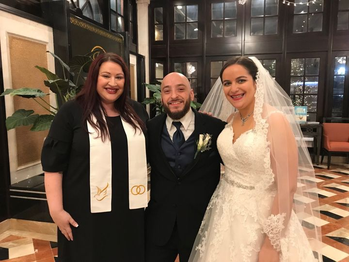Tmx 1529454960 A4abef869188206b 1529454958 Fa77874c3ab5161a 1529454954965 7 MikeandNatalie2 Floral Park, New York wedding officiant