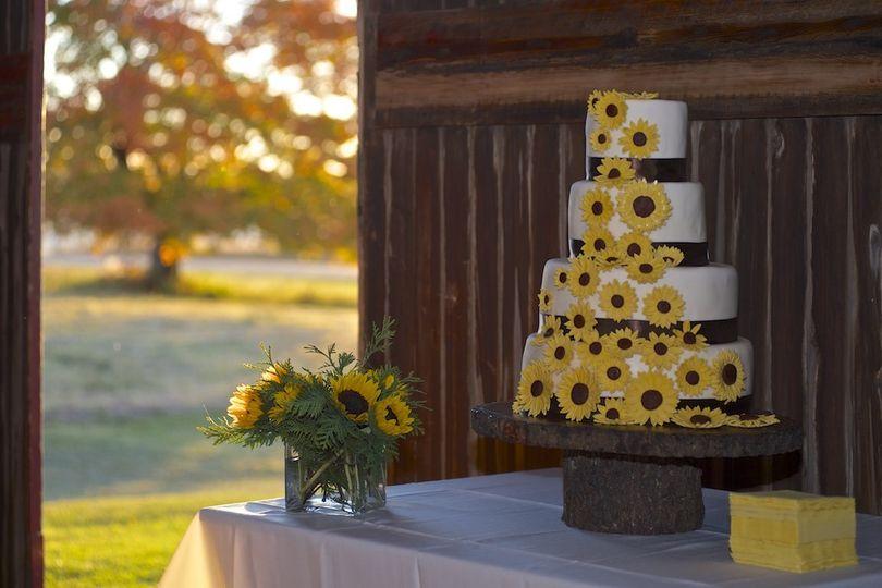 sunflowercake