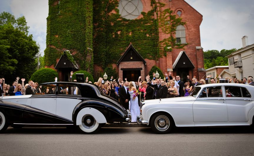 a happy couple with our vintage vehicles 51 209036