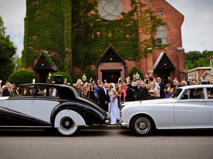Tmx A Happy Couple With Our Vintage Vehicles 51 209036 Albany, NY wedding transportation