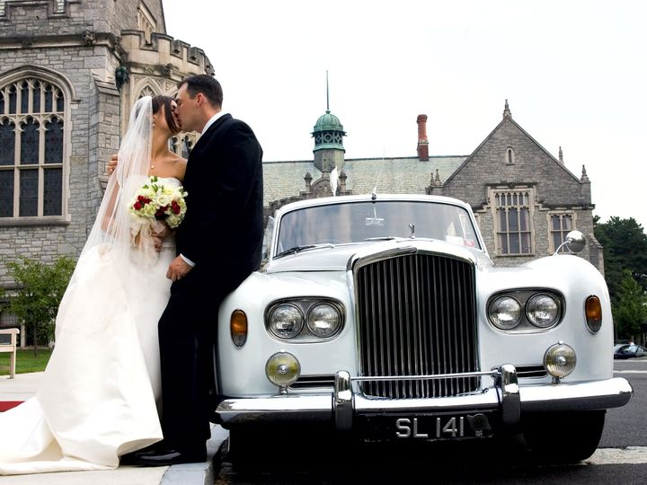 Tmx A Newly Married Couple With Our 1963 Bentley 51 209036 Albany, NY wedding transportation