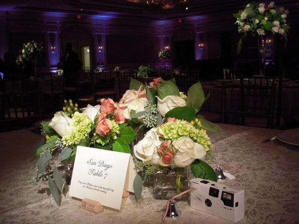 Low Table Centerpieces