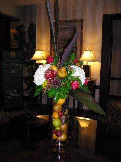 Entrance floral arrangement