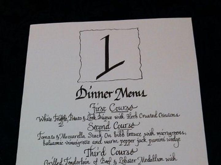 Tmx 1333494113192 WeddingDinnerMenu Orlando wedding invitation