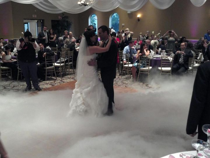 Low line fog for first dance