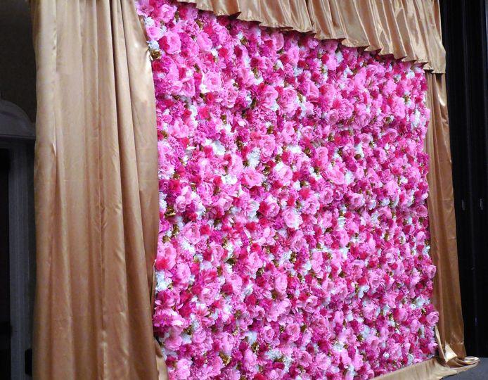 pinkgoldwall