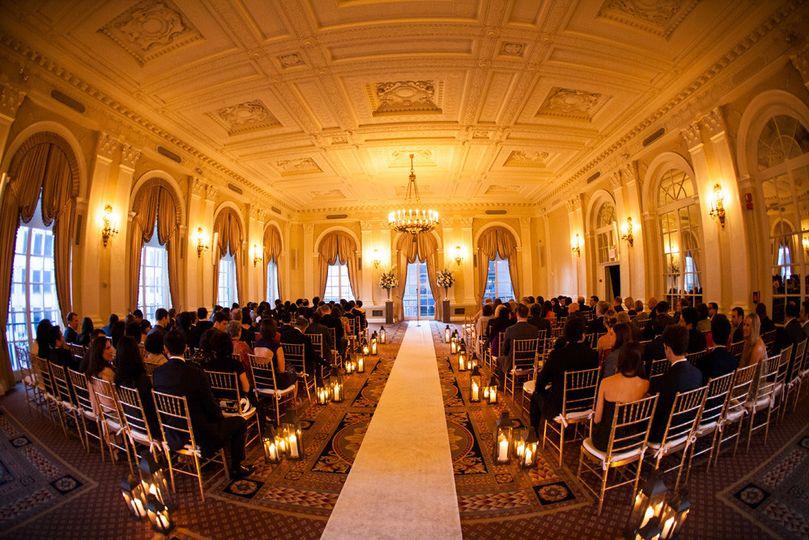 yl ballroom setup for ceremon