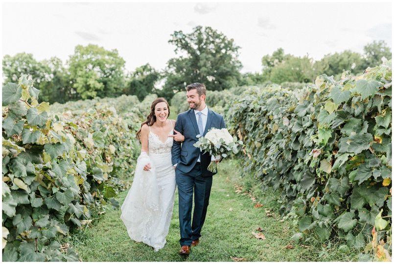 VA Vineyard Wedding