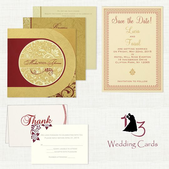 Wedding invitations and Stationery - 123WeddingCardsVisit here: https://www.123weddingcards.com