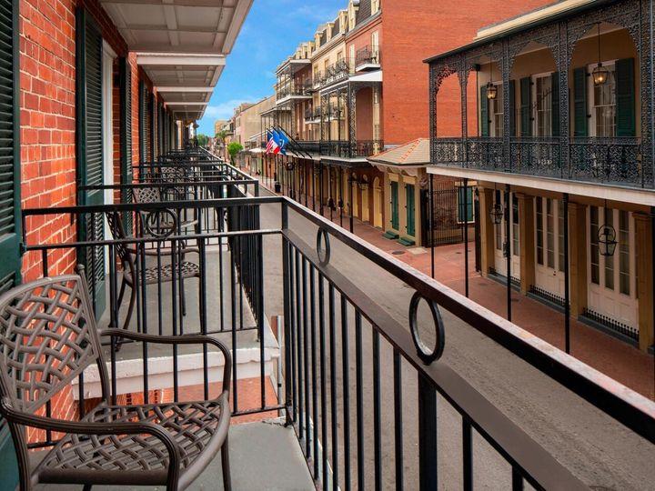 Tmx Msyqf Street Balcony 1214 Hor Clsc 51 474136 157598937687807 New Orleans, LA wedding venue