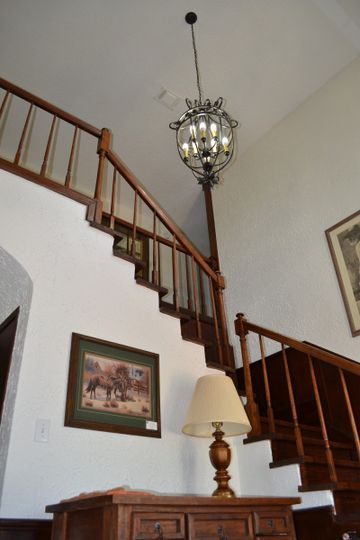 Trails End Ranch- Interior Staircase