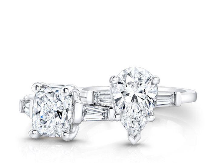 Tmx 1366127313170 Pearcushionlayingdown Los Angeles, CA wedding jewelry