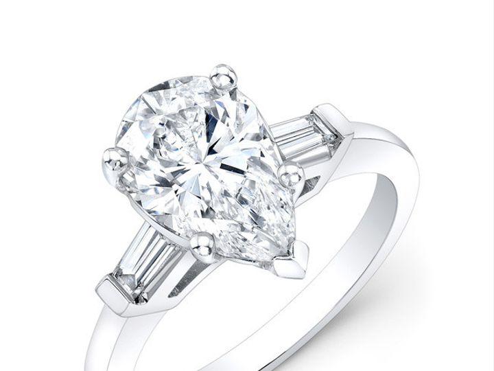 Tmx 1366127315952 Pearringthreeqrtr Los Angeles, CA wedding jewelry