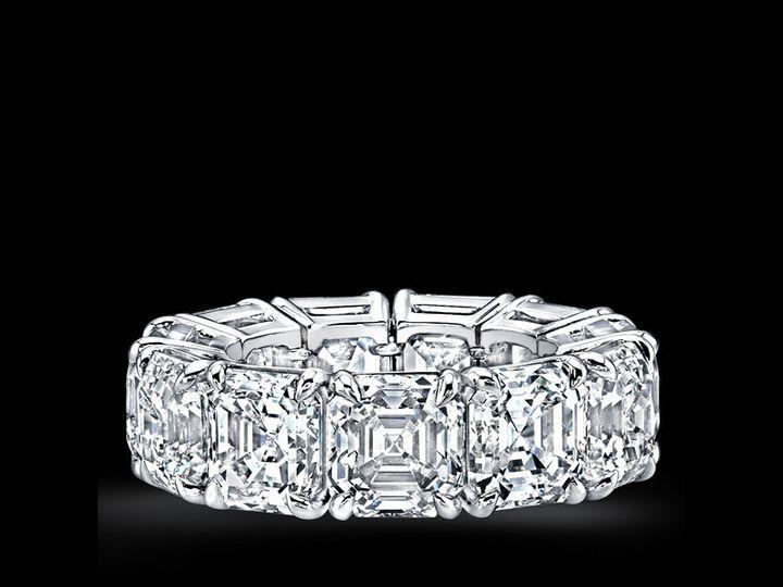 Tmx 1366129592797 Eternity Bands   Asscher Cuts Los Angeles, CA wedding jewelry