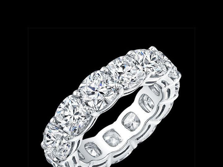 Tmx 1366129598059 Eternity Bands   Cushion Cuts Los Angeles, CA wedding jewelry