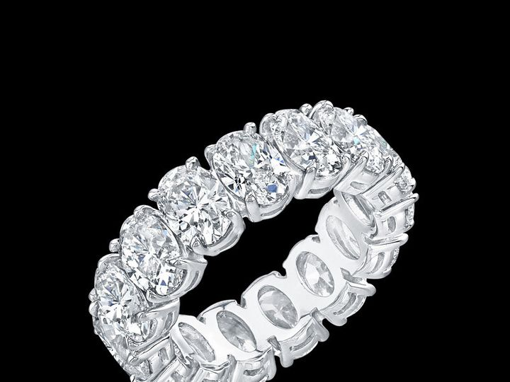 Tmx 1366129609224 Eternity Bands   Ovals Los Angeles, CA wedding jewelry