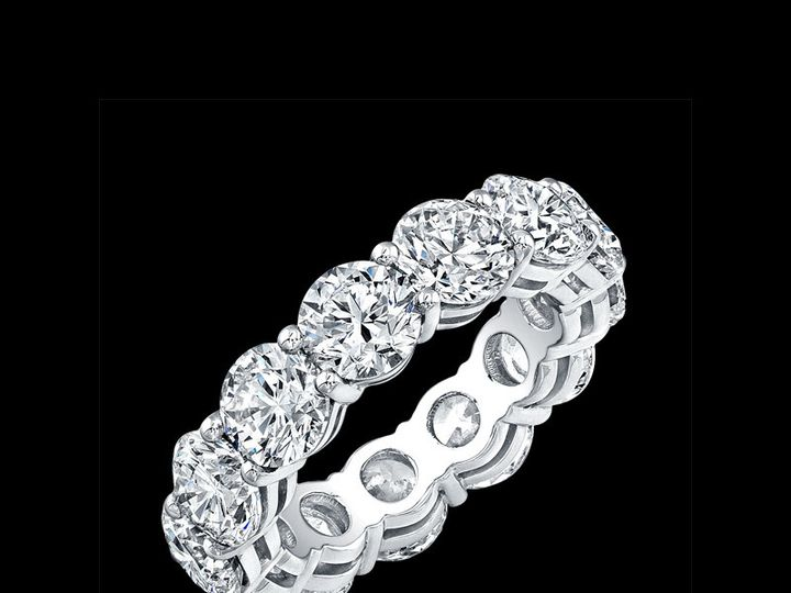 Tmx 1366129614924 Eternity Bands   Rounds Los Angeles, CA wedding jewelry