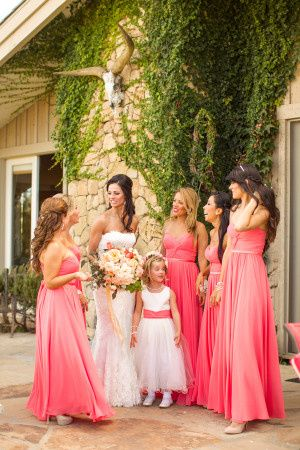 Tmx 1436297782673 Coral Bridesmaids Dresses 300x450 Fishers wedding planner
