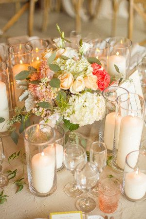 Tmx 1436297789651 Peach And Pink Centerpiece With Candles 300x450 Fishers wedding planner