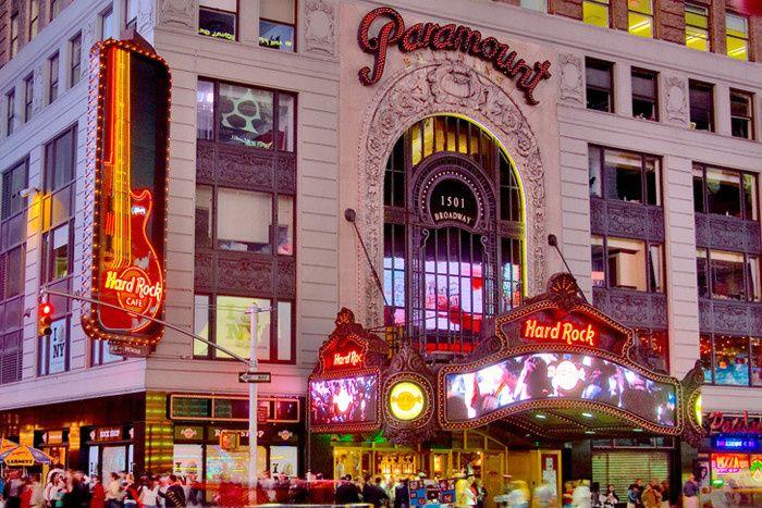 Hard Rock Cafe Broadway New York Ny