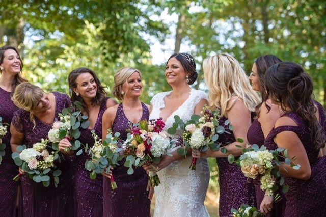 Jacquie & Bridesmaids