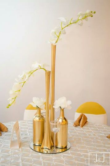 Gold and White Event