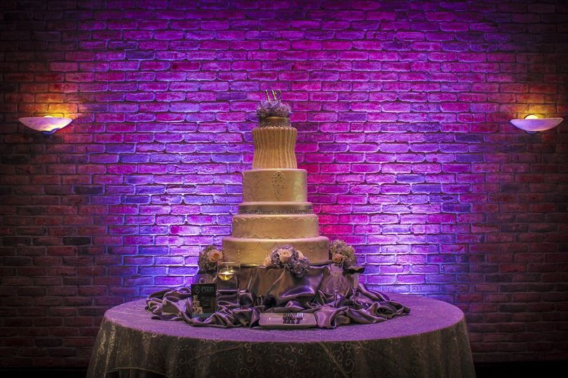 800x800 1372275379736 purple up lights behind cake