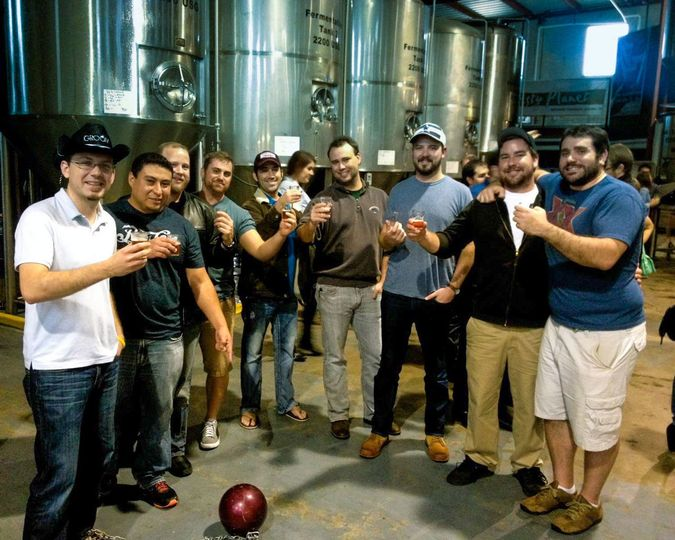 brewery tour bachelor party