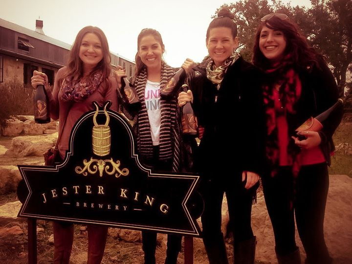 brewery tour girls jester king