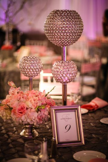 Table card and decor