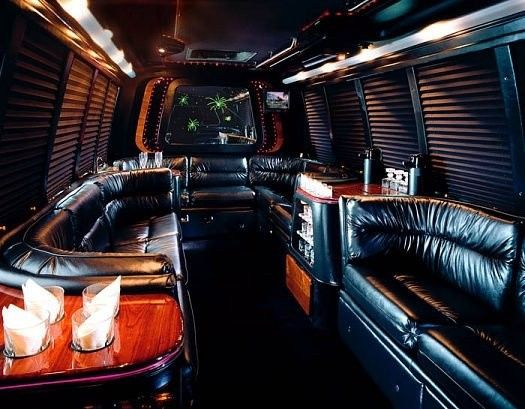 The 20 Passenger Interior features Stereo/CD/DVD TV's, IPOD Capability, Bar Facilities, Fiber Optic...
