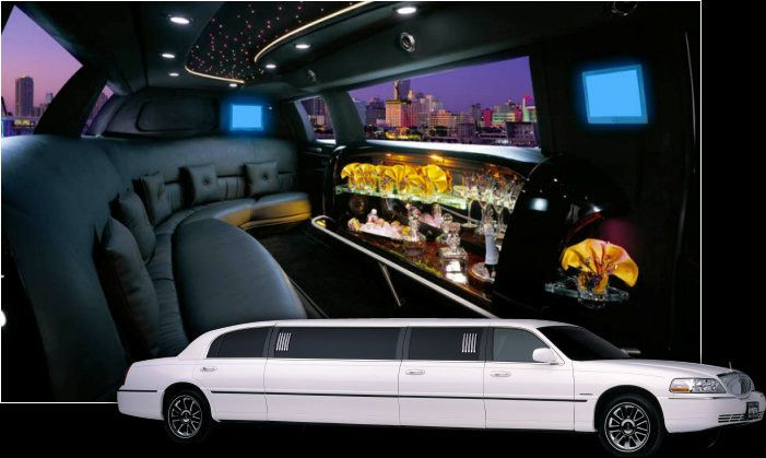 The 10 Passenger Limousines are available in both Black and White Stretch.  Comfort and style with...