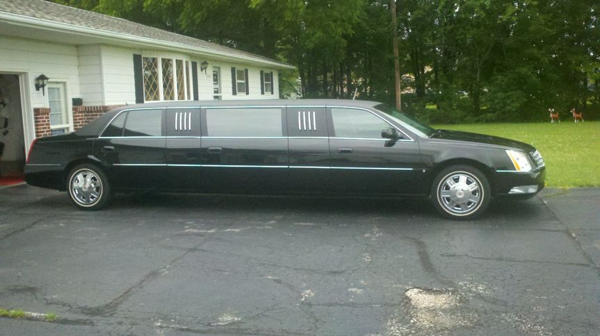 The 6/8 Passenger Presidential Stretch Limousine.