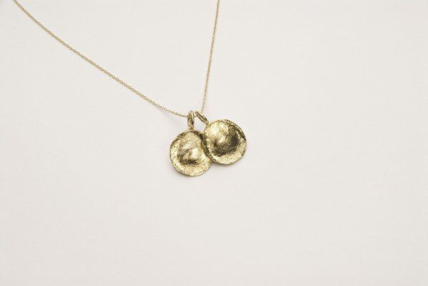 Solid 14kt Gold pendants
