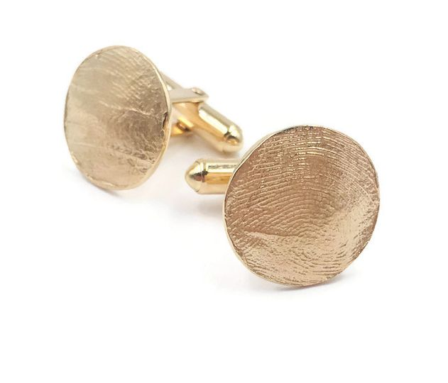 Solid Gold Cuff Links