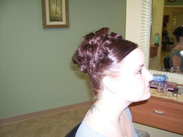 These updos were done for prom but can be altered to match any brides idea of the perfect hairstyle!