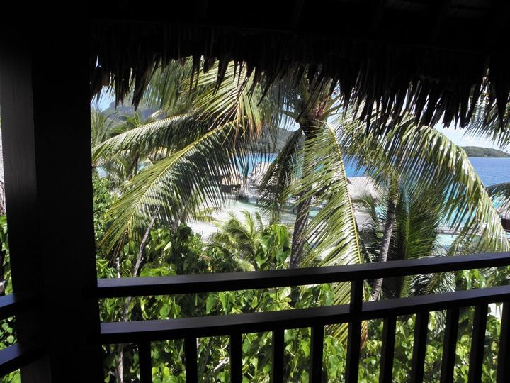 View from the bungalow