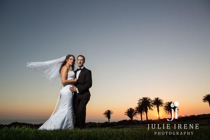 terranea resort wedding sunset vei