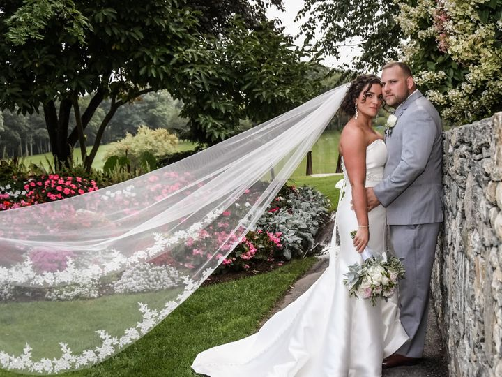 Tmx Bride And Groom At Wall Closer W Flowers 51 127236 158887017074629 Sutton, MA wedding venue