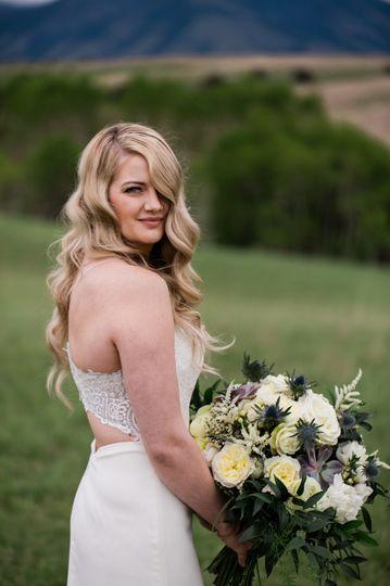 Bridal portrait | Kacie Q Photography