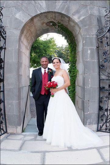 Wedding portrait
