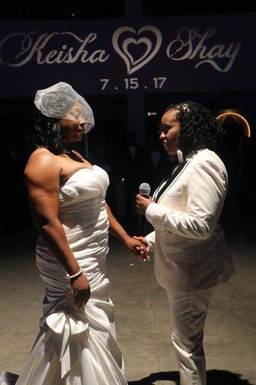 Keisha & shay vows