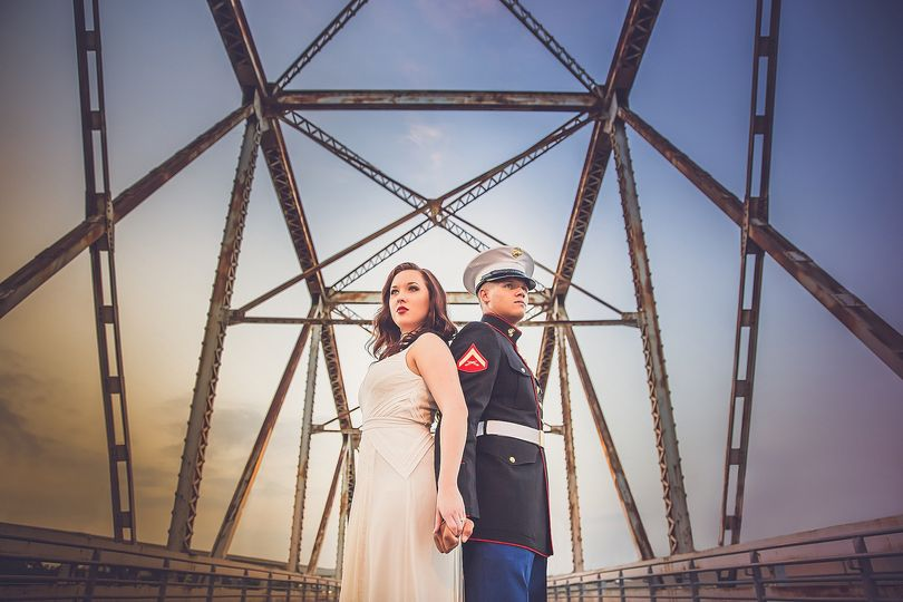 The Marine and his Bride